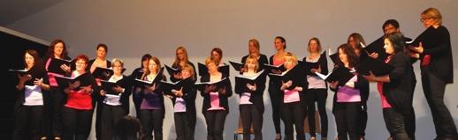 """Frauenchor """"Chorallen"""" Ltg.: ML Ulrike Schweiger"""
