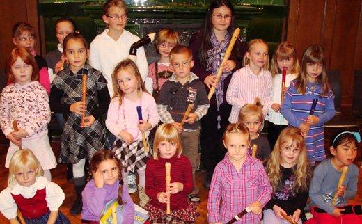 Herbstkonzert der BlockflötenschülerInnen