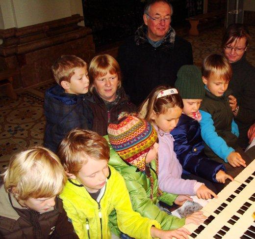 Orgelbesichtigung
