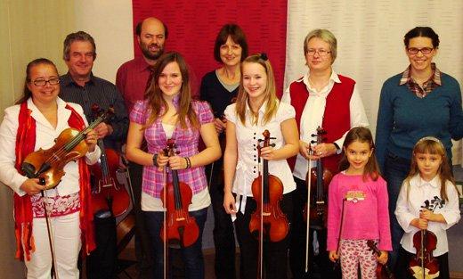 Geigenvorspiel dez. 2011
